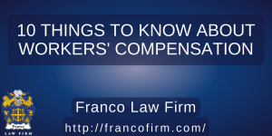 Read more about the article 10 Things to Know About Workers' Compensation