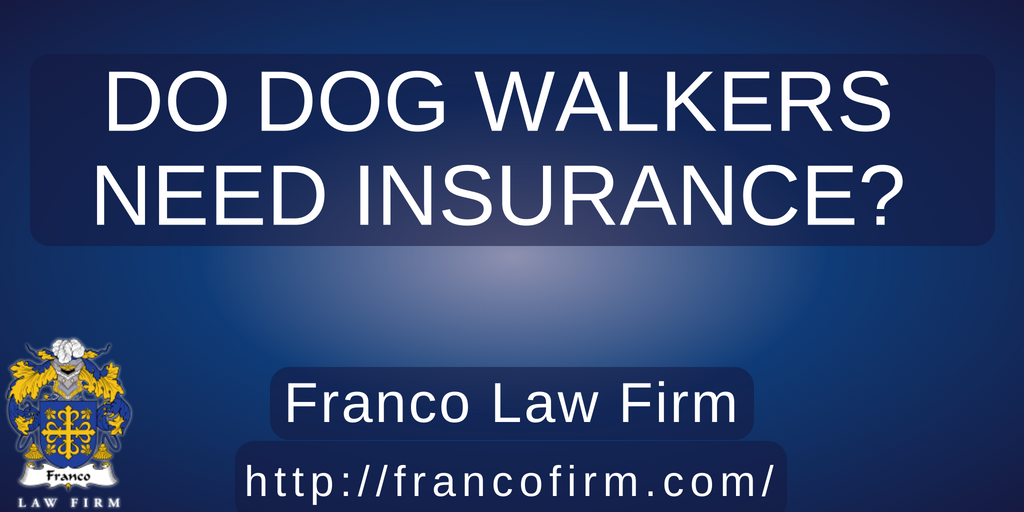 Do Dog Walkers Need Insurance?