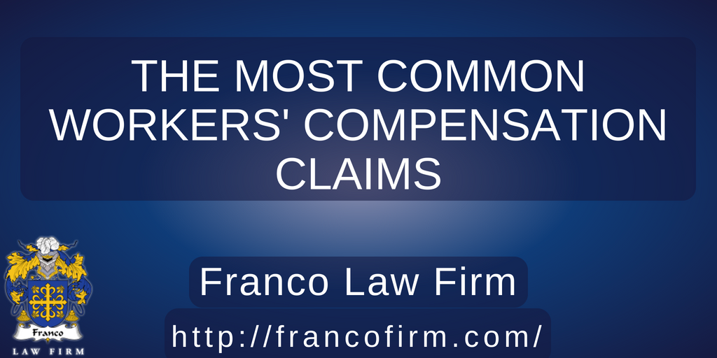 Most Common Workers' Compensation Claims?