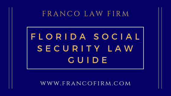 Florida Social Security Law Guide